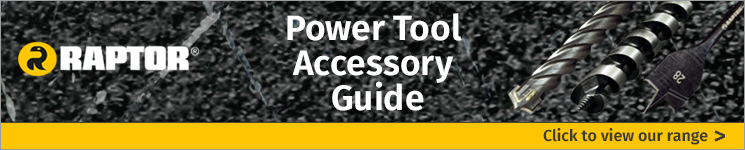 Click to view our range of Raptor Tool Accessories