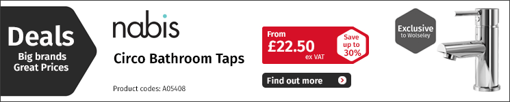 Click to view our Taps Deals