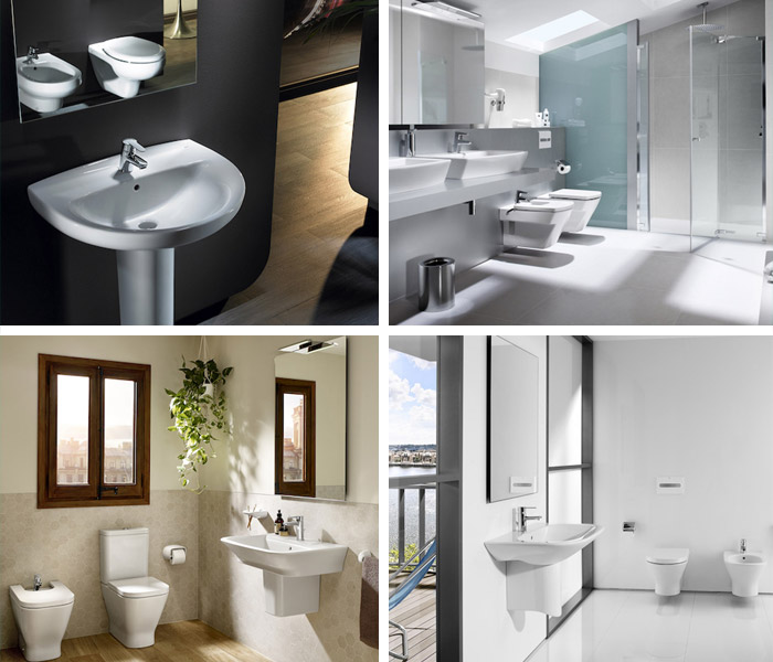 Roca Bathrooms at wolseley.co.uk