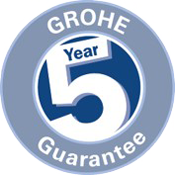 GROHE 5 year guarantee