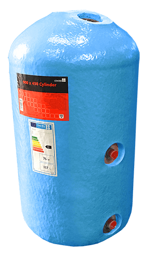 Vented cylinders