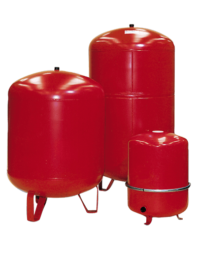Center Heating expansion vessel