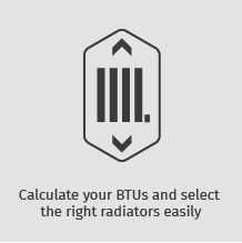 Calculate your BTUs and select the right radiators easily
