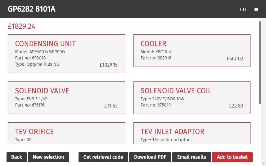 Refrigeration Selector | Wolseley