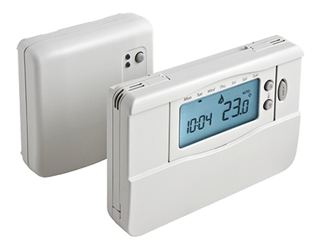 Center wireless thermostat