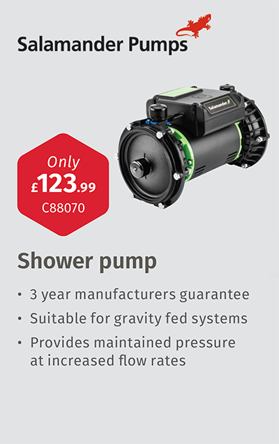 Shower pump