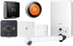 Boiler and smart thermostats